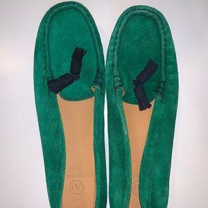 Austen Heller womens suede loafers